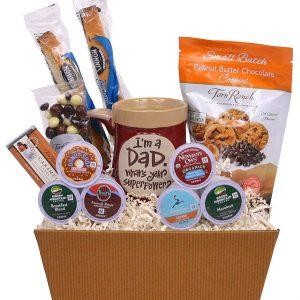 Super Dad K-Cup Gift Basket