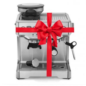 Espresso Machine Present Wrapped