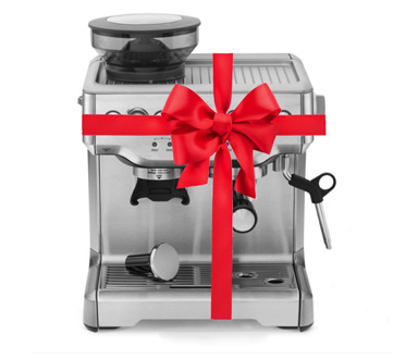 Espresso Machine Present Wrapped