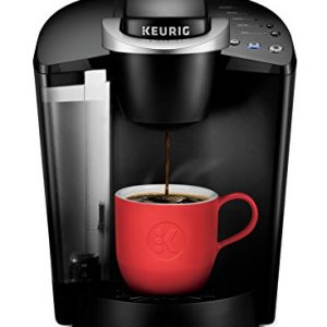 Keurig with red cup