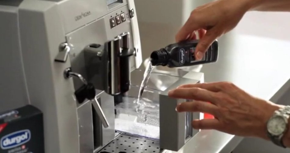 descale coffee machine